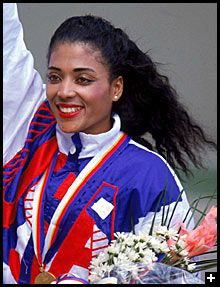 Florence Griffith Joyner, 1959-1998 Flo Jo Fastest woman in history