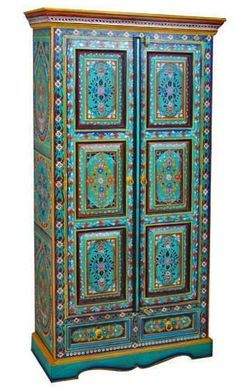 hand painted indian furniture - Google Search | Furniture ...