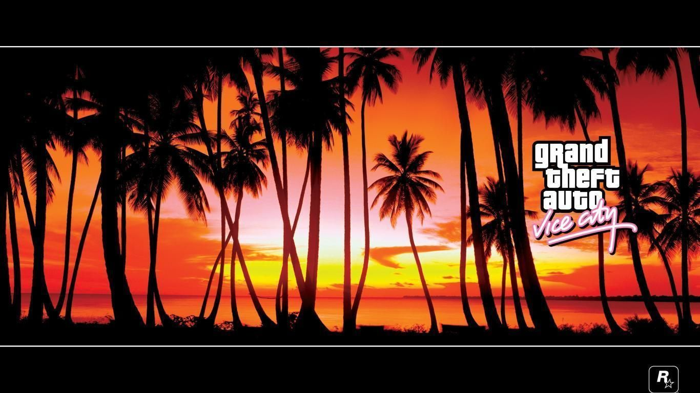 Grand Theft Auto Vice City Hd Wallpaper 2 1366 X 768 Stmed Net City Wallpaper Grand Theft Auto Background Images