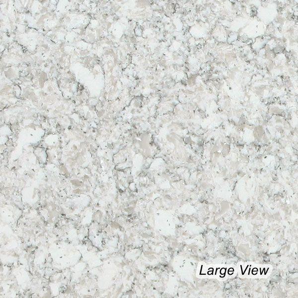 Viatera Legacy Everest Quartz Kitchen