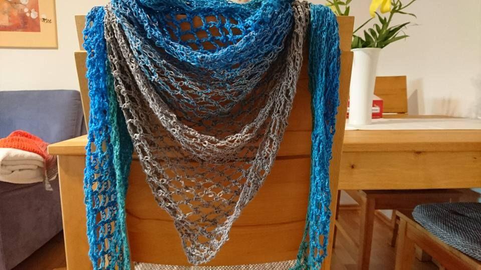Ein wunderschönes luftiges Tuch von Eva Golbs