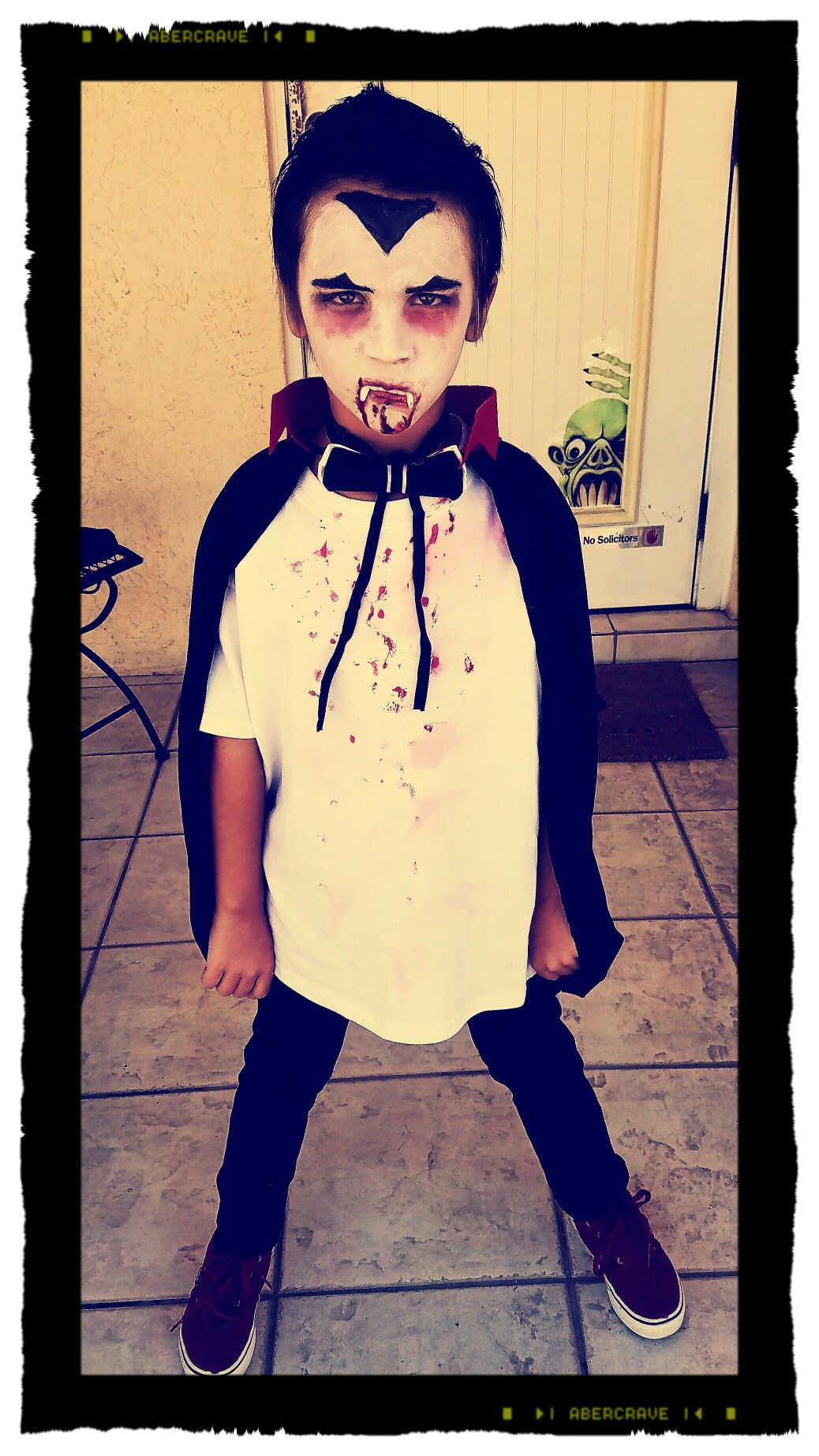 DIY Dollar Tree Dracula Halloween Costume = 5...using