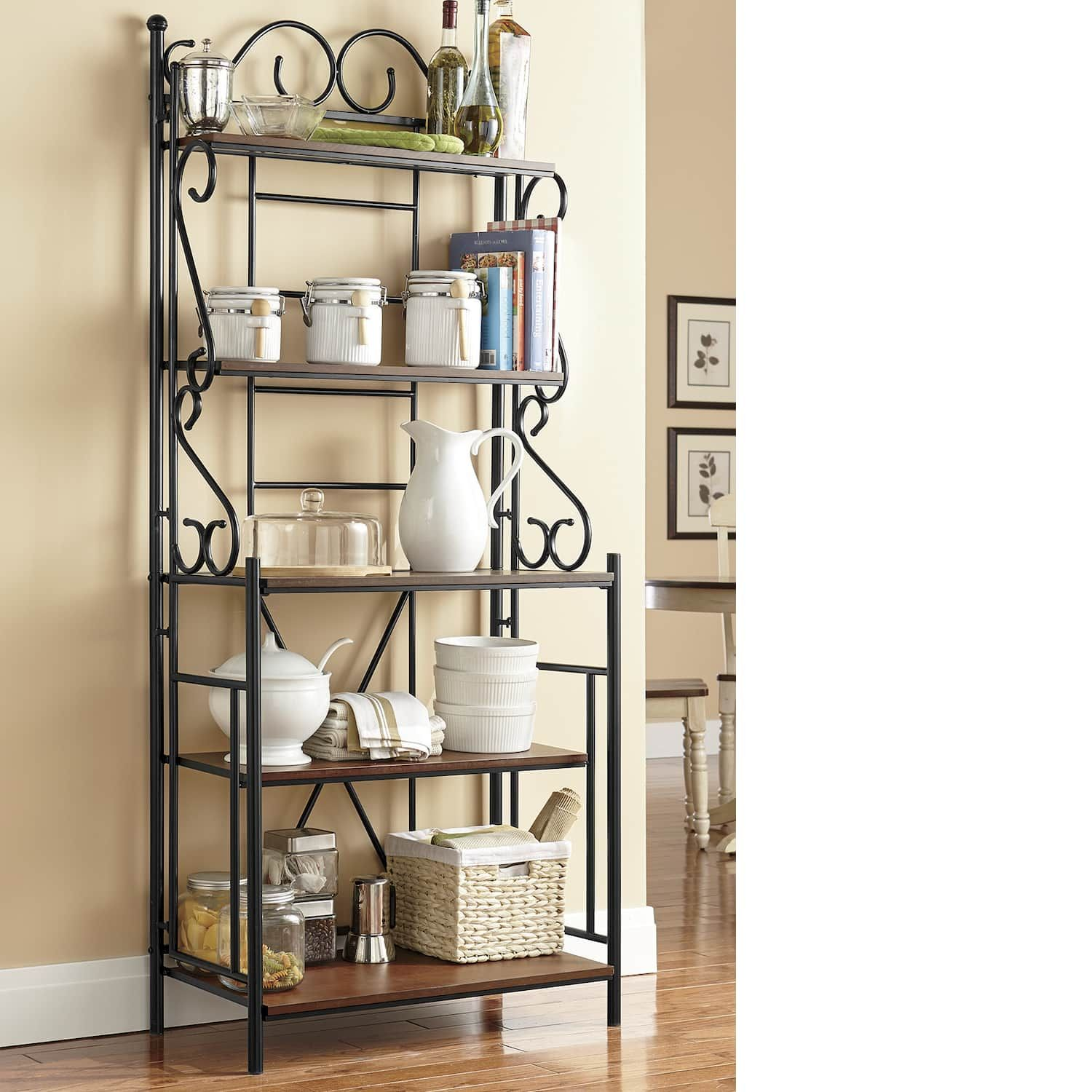 Scroll Bakers Rack Country Door Bakers Rack Bakers Rack