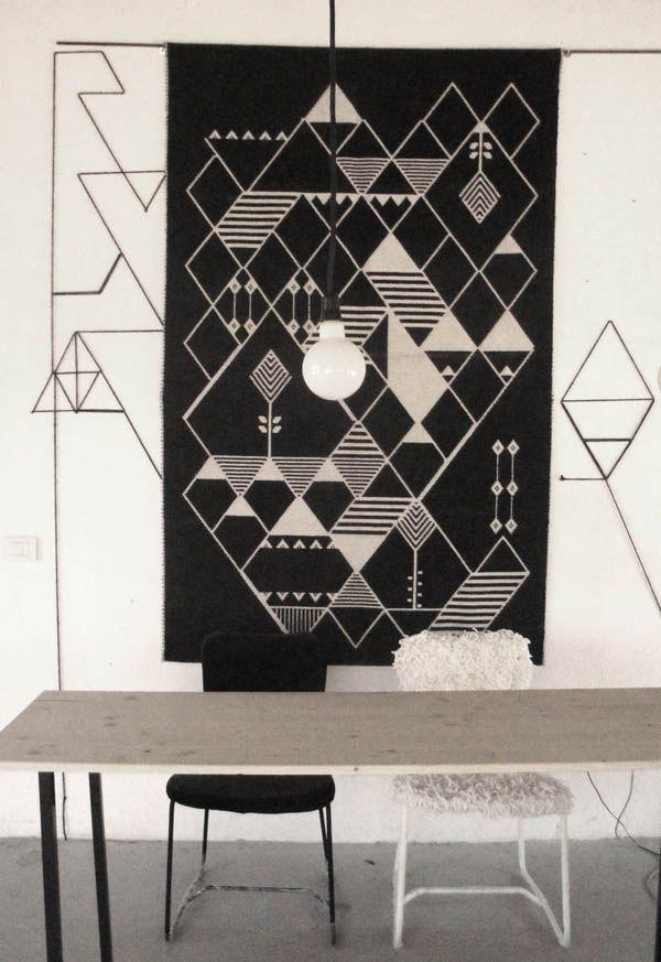 Handwoven Rugs Wall Hangings From Sardinia Design Hunter