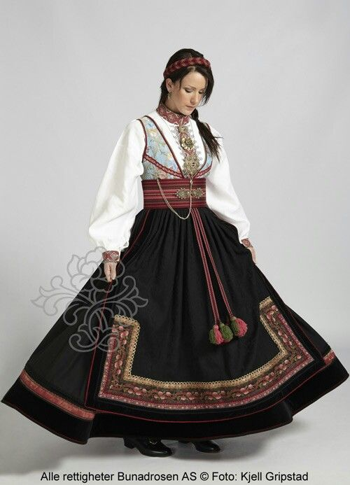 Beltestakk Telemark Norwegian Dress Norwegian Clothing Scandinavian Costume