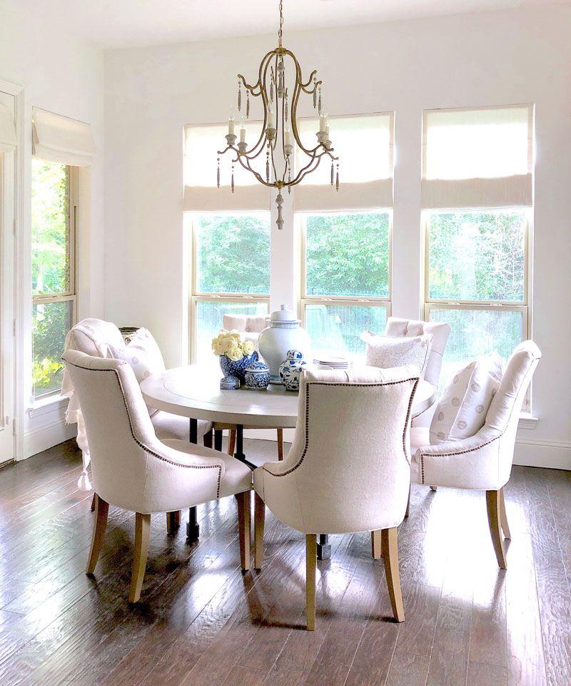 7 Simple Home Refresh Ideas Interior Design Dining Room Round