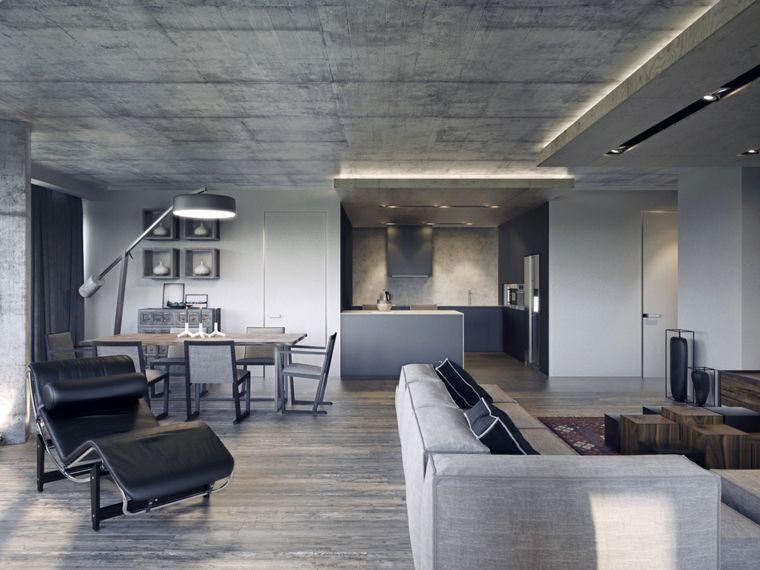 1001 + Idee Come arredare un loft open space con immagini ...