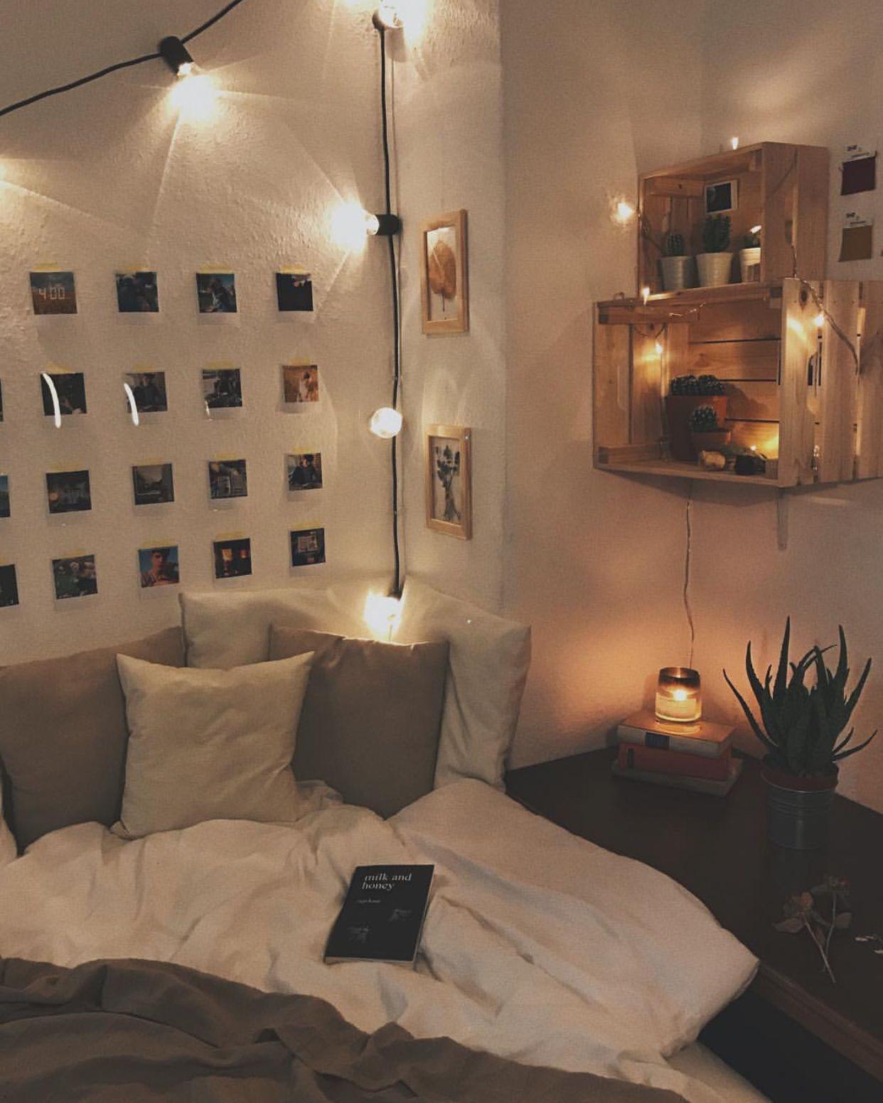 Dorm Room, Bedroom Decor, Cozy