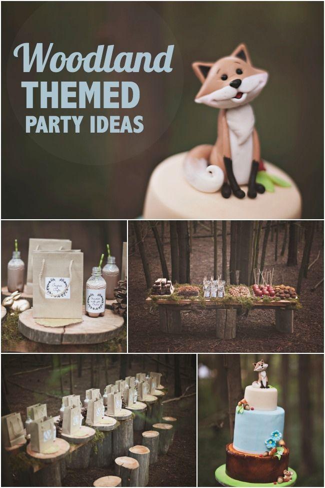 Woodland Themed Birthday Party Ideas For Boys