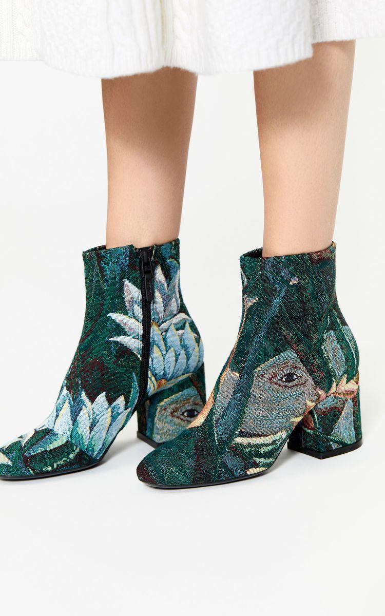 c87855107280 PINE Daria jacquard boots for women KENZO   wishlist   Boots, Kenzo ...