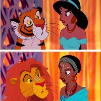 Disney Princesses Re-Imagined As Different Races