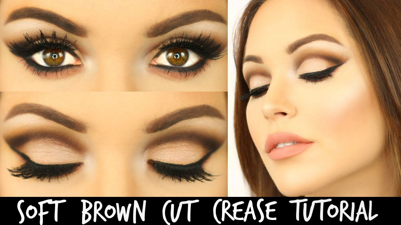 Soft Brown Cut Crease with Too Faced Chocolate Bar Palette | Laura Somme...