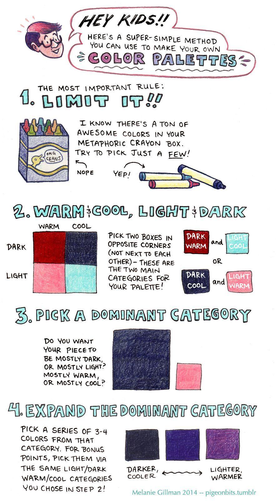 Art Tutorials  Color theory