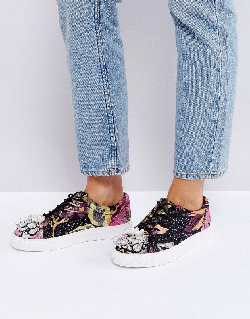 Zapatillas de deporte con adornos DREAM ON de ASOS trqYKg3T
