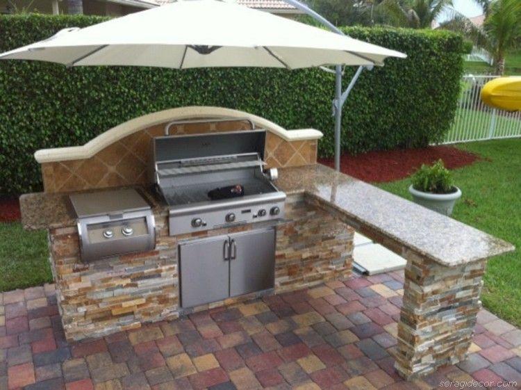 Stunning U Shaped Kitchen Ideas With Island 52 Outdoor Kitchen Design Layout Small Outdoor Kitchens Outdoor Kitchen Design