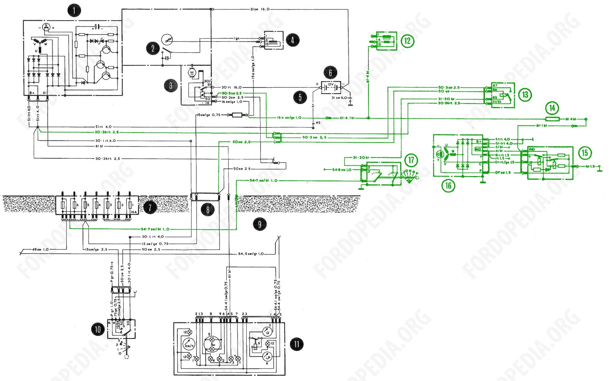 Fordopedia Org Brilliant Starter Motor Diagram Wiring