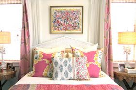 classic • casual • home: Happy, Colorful Bedrooms and Stella + Sadie