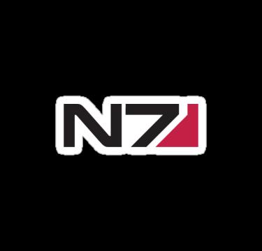 N7 Logo Mass Effect By Sykoticsamurai Mass Effect Logos Logo Design
