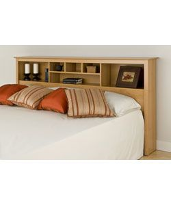 Montego Maple King Bookcase Headboard Ping The Best Deals On Headboards Bedroom Pinterest Storage And