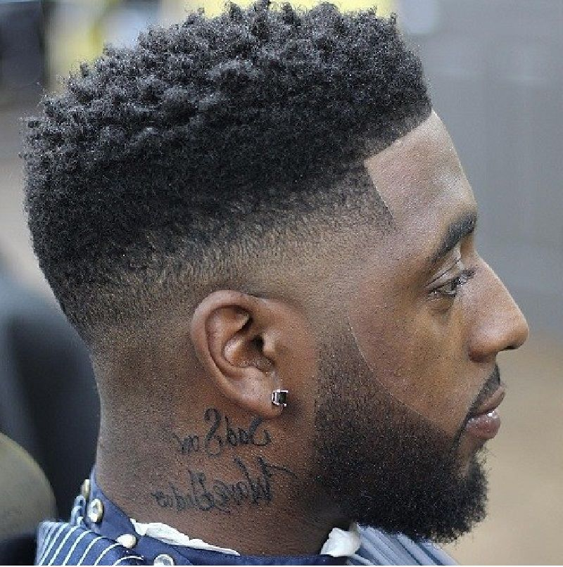 Curly Top Fade Haircut Modern High Top Fade Latest Hairstyles And