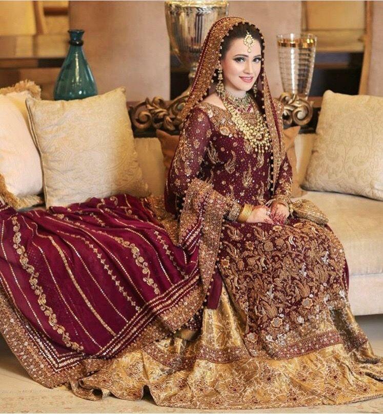 bridal collection. image by madiha zainab Pakistani
