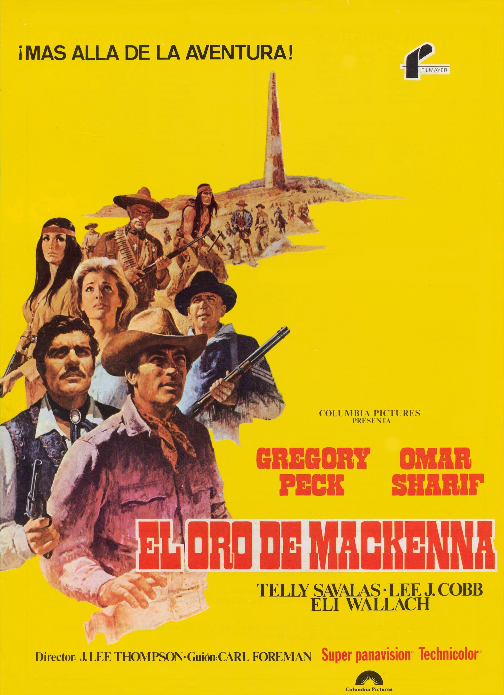 El Oro De Mackenna 1969 Esp Tt0064615 G Cine Western Cine Del Oeste Buenas Peliculas