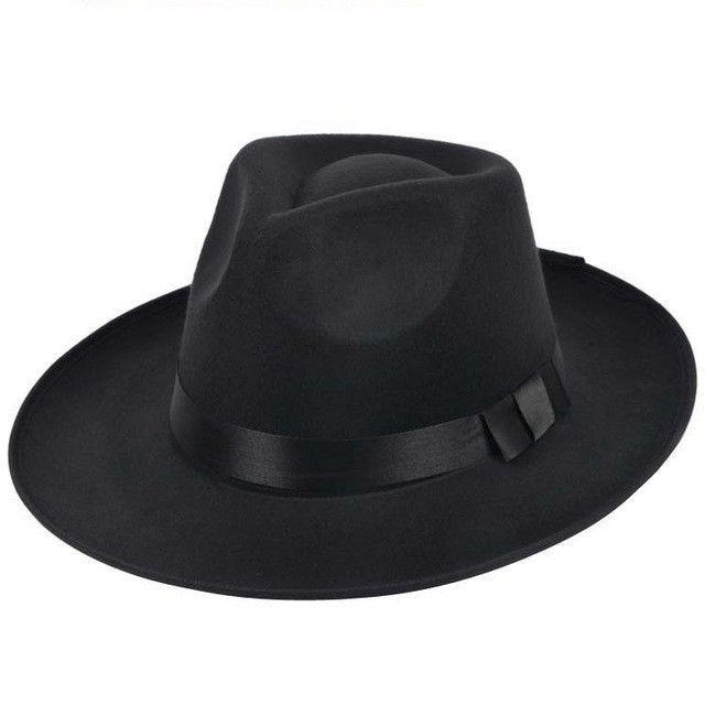 2d93ac8437a46 Vintage bowler hat   Derby hat. Black felt fur bowler from Stetson ...