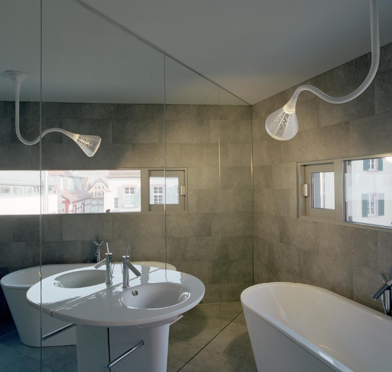 Pipe Ceiling Luminaire By Artemide Bathroom Vanity Lighting