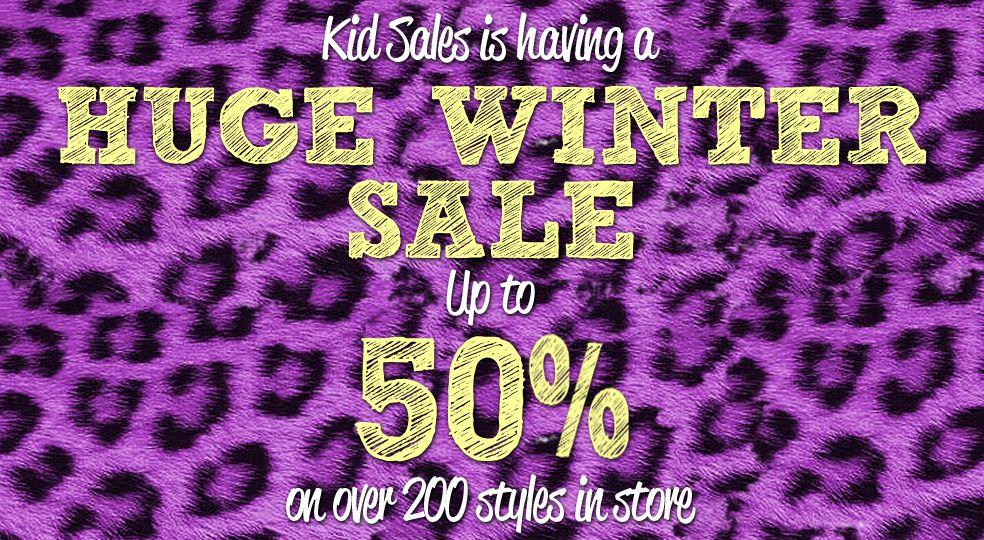 Kid Sales Huge Winter Sale Up to 50% Off
