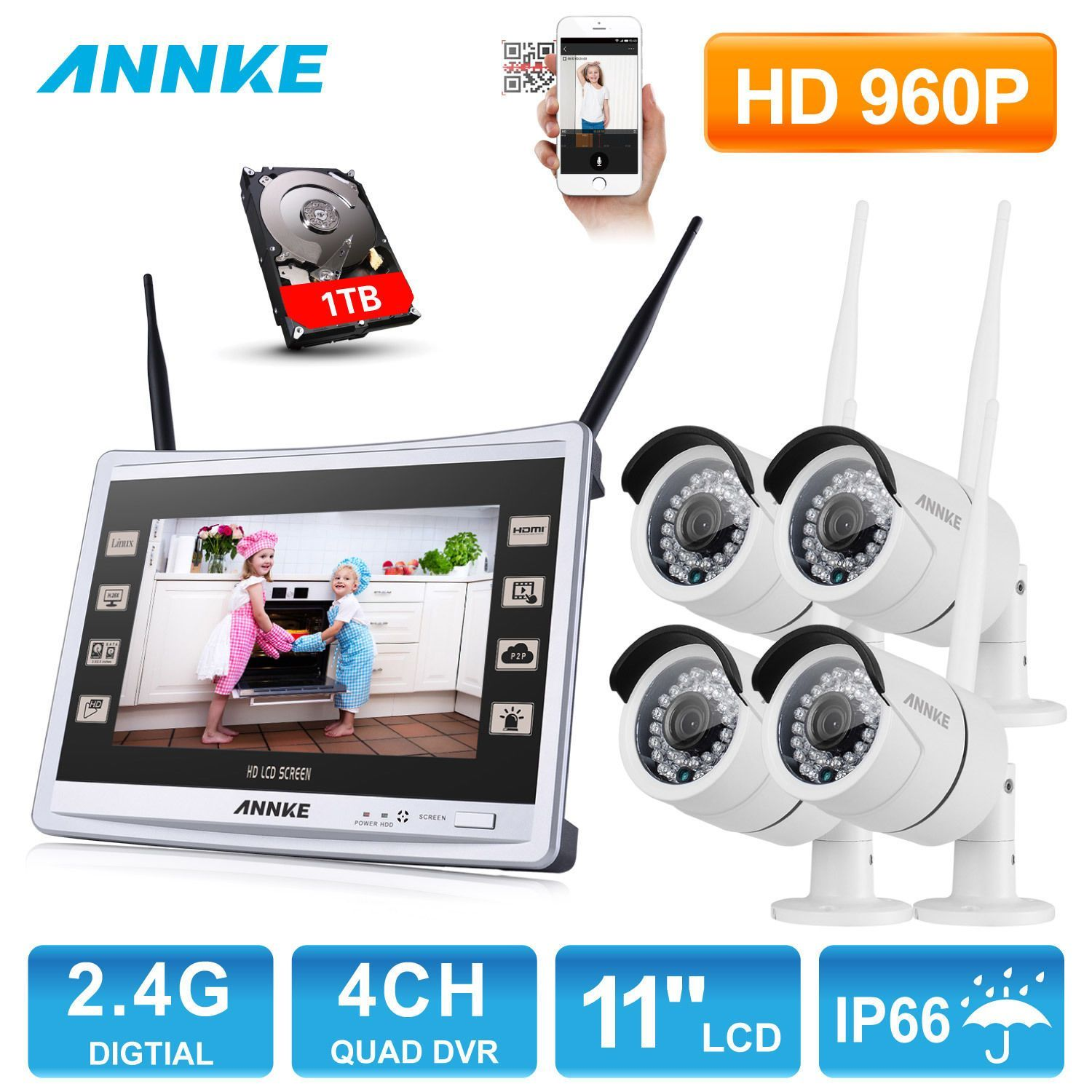Annke Wireless Wifi
