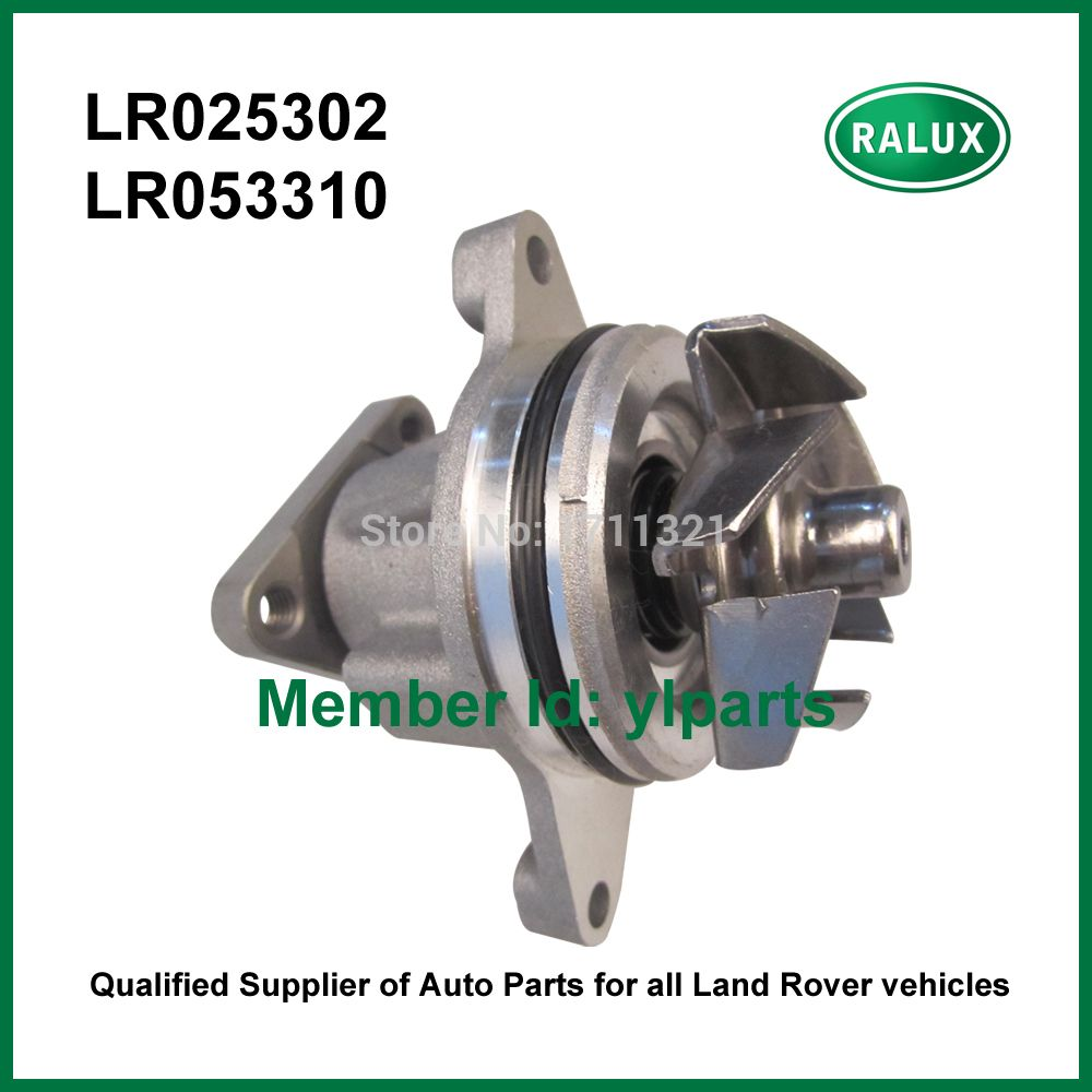 LR025302 LR053310 New Petrol Auto Water Pump For LR Freelander 2 Range Rover  Evoque Range Rover