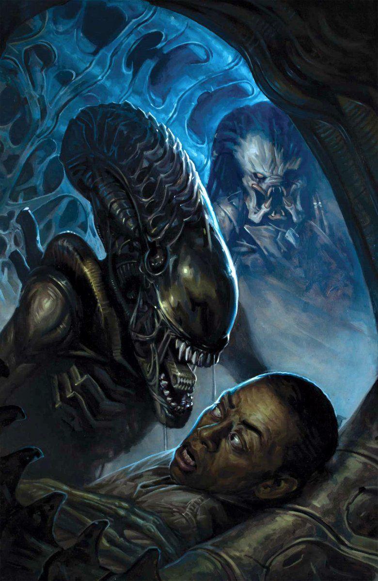 Alien Vs, Predator Fire and Stone Issue 2 Cover   Predator ...