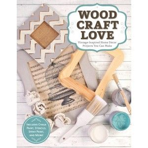 Wood, Craft, Love - Get inspired to turn ordinary craft wood pieces into stunning home décor.   This was written by the owner of Pieces where I  took my paint class.  She has a great vision and good taste, I can't wait to see what projects are featured....mdb