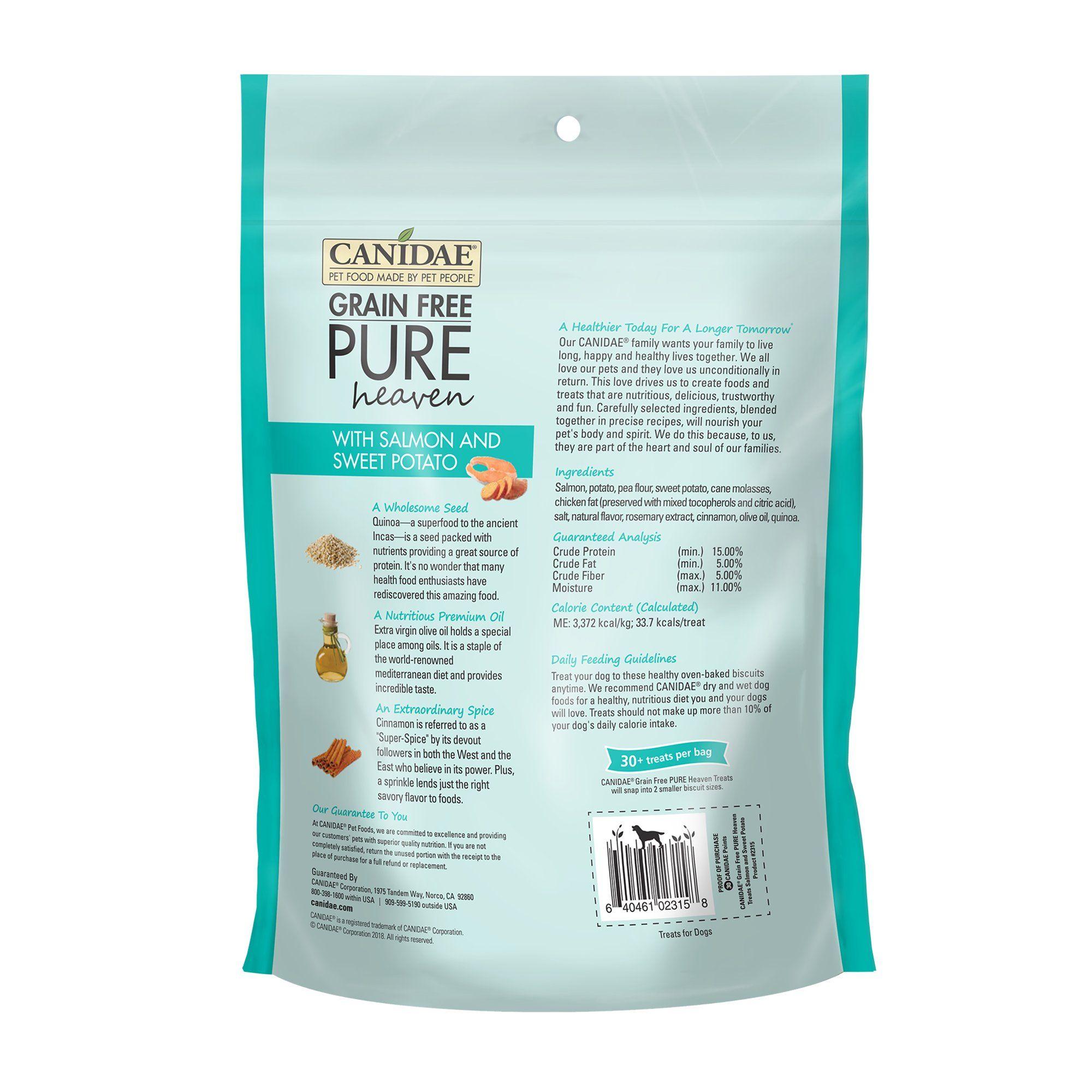Canidae grain free pure heaven with salmon sweet potato