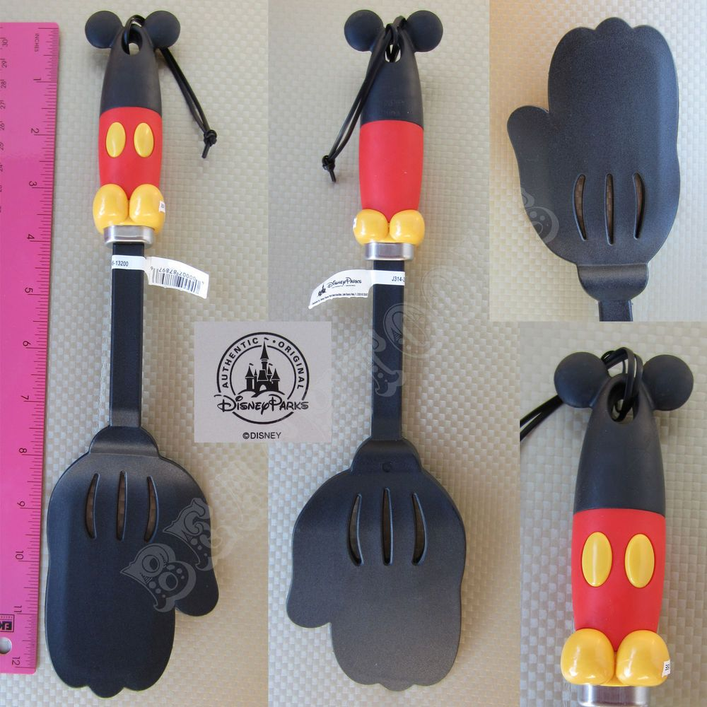 New Authentic Disney Parks Mickey Mouse Body Parts Spatula Flipper ...