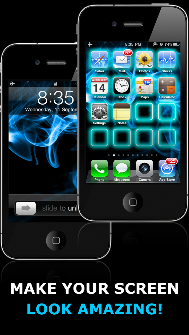 Glow Backgrounds App Cool Wallpapers for iPhone and iPod
