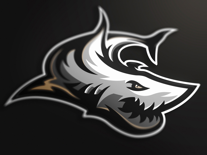 Shark mascot logo (FOR SALE) by Marko Berovic 8c5667635583e