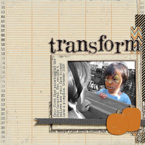 Transform by Jeryn Carlisi