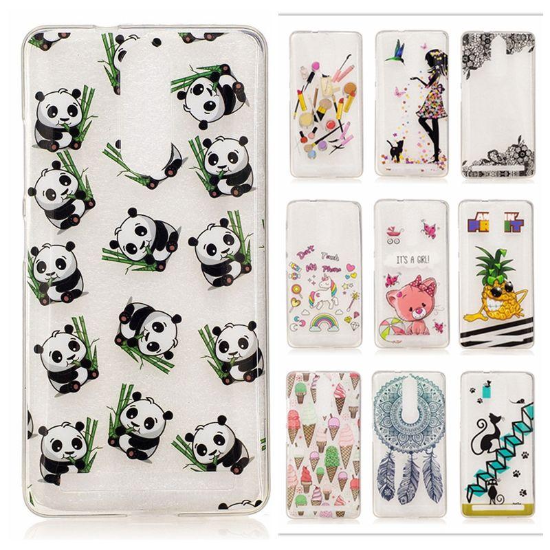 save off 36988 cb78d Cute Cartoon Animal Panda Case For Lenovo Vibe K5 Note K52t38 K5Note ...