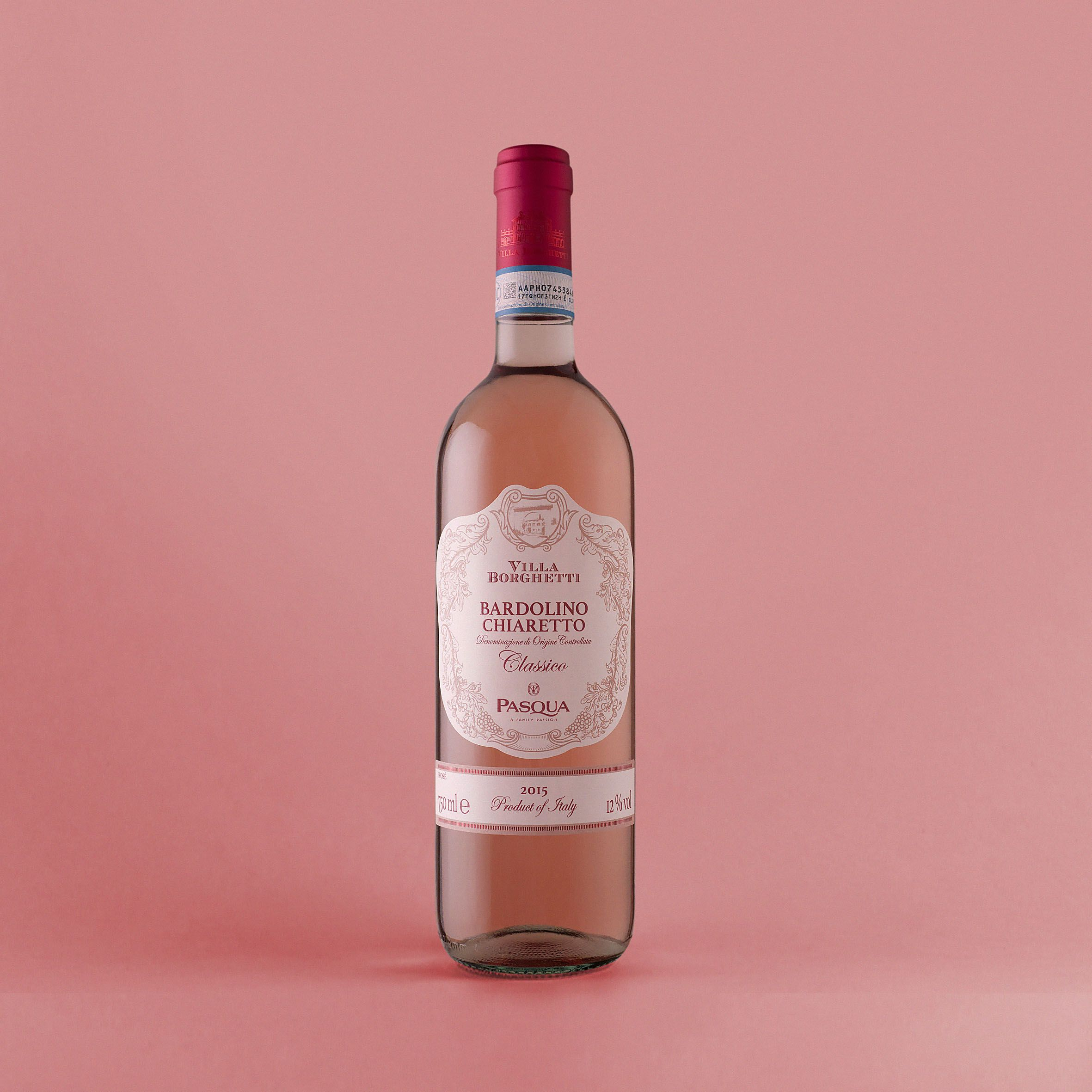 Packaging And Wine Label Villa Borghetti On Behance Rose Wine Label Wine Label Wine