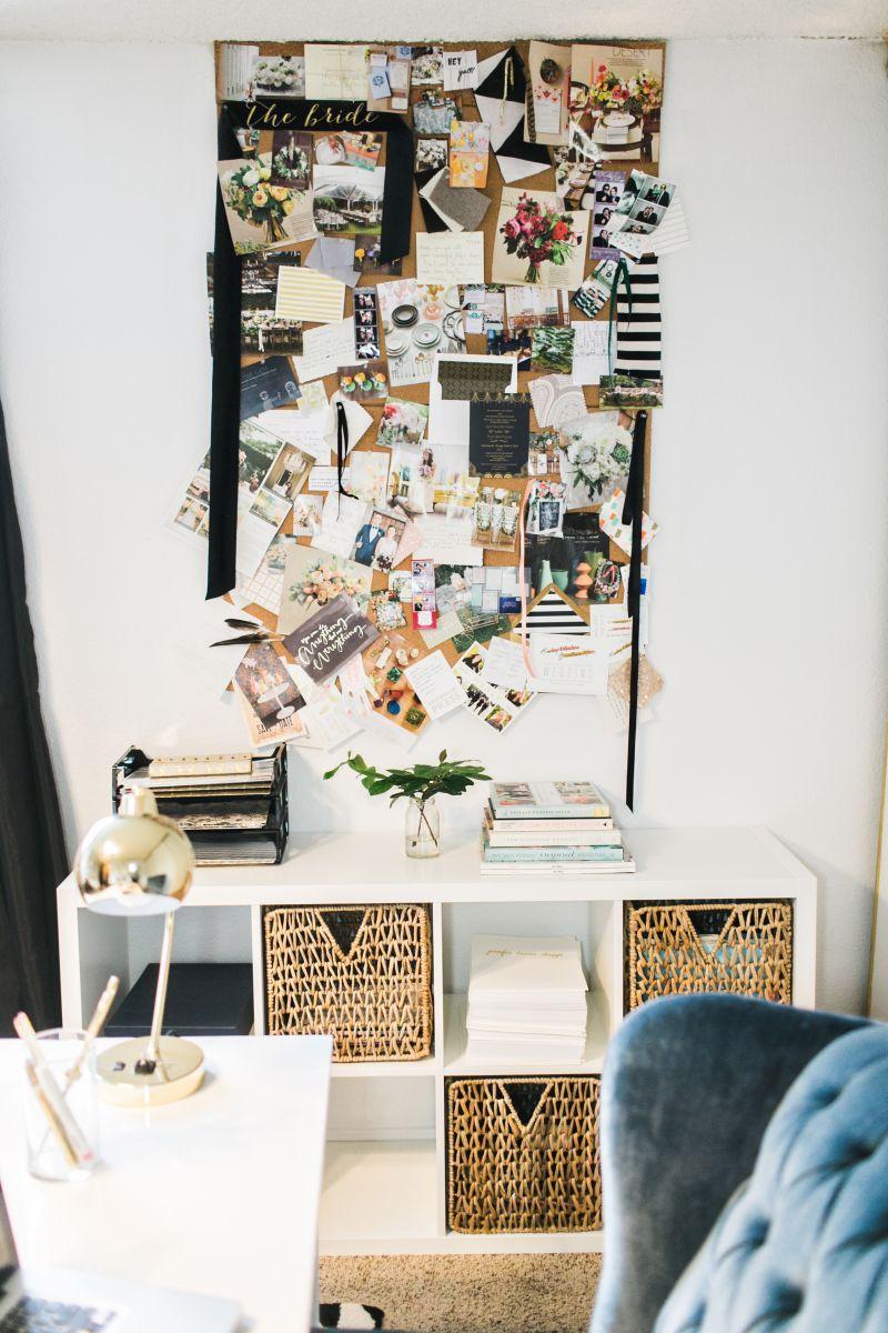 Jennifer Harrup S Houston Texas Home Office Tour The Everygirl Home Office Space Home Office Home