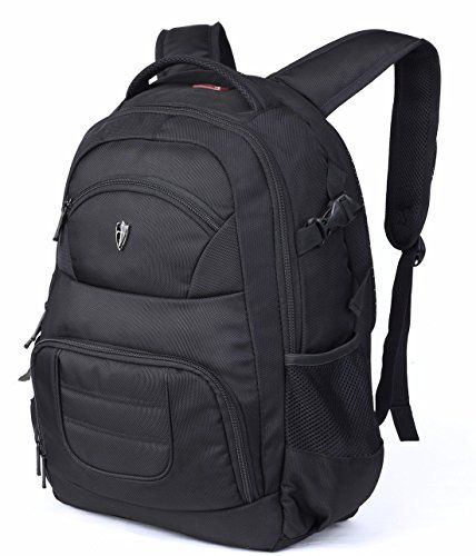 Victoriatourist DSLR Camera Backpack with Laptop Bag Waterproof Rain Cover Fits Most Laptops 156 Black >>> For more information, visit image link.