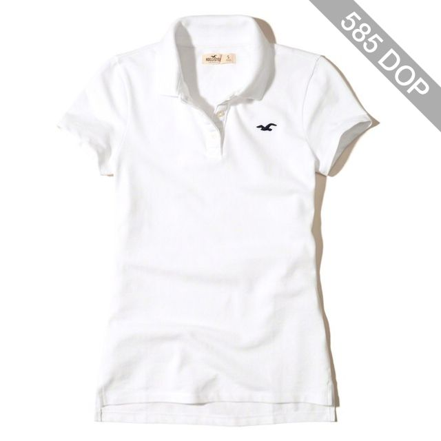 Hollister Stretch Pique Icon Polo
