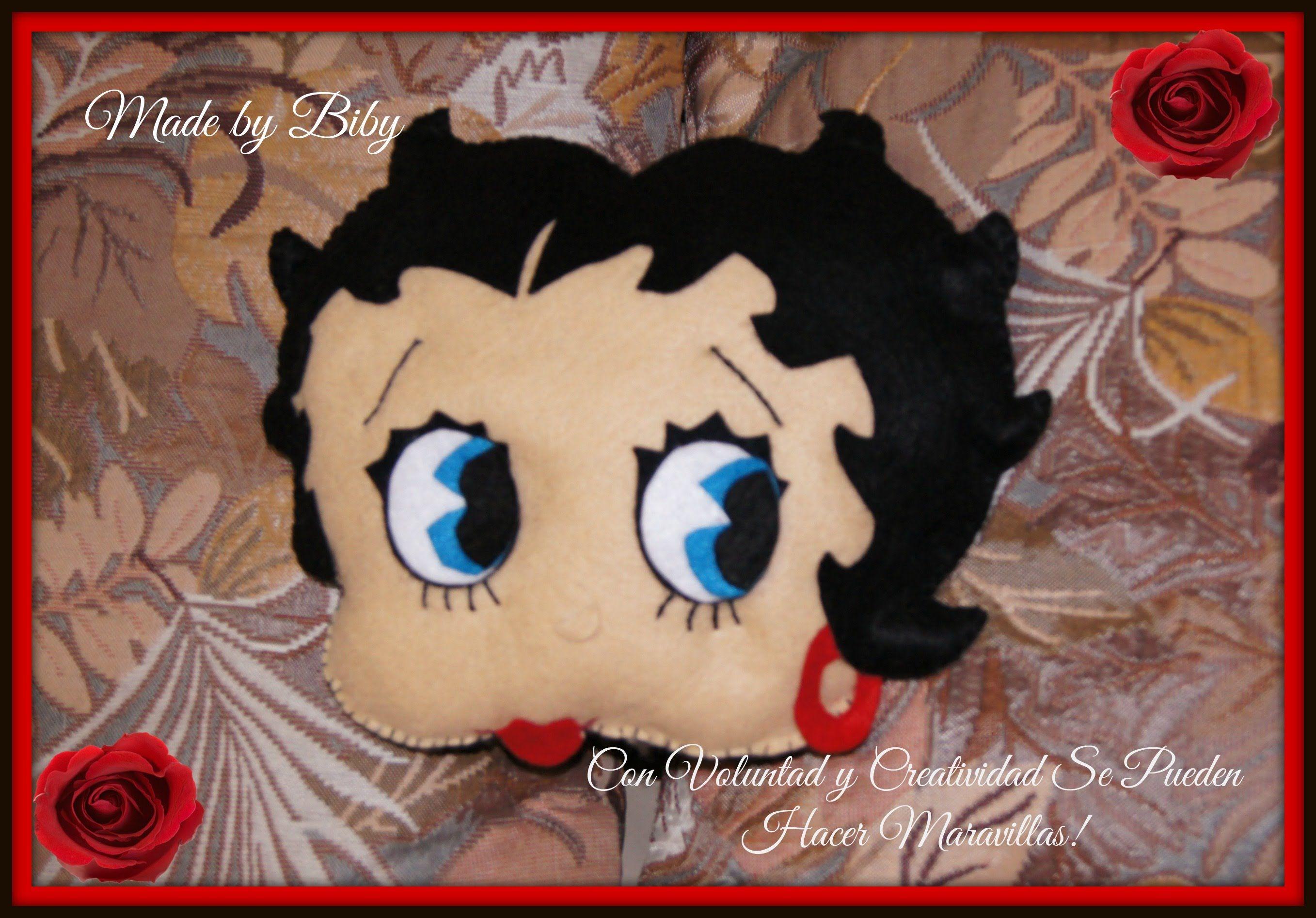 BETTY BOOP EN FIELTRO manualidades   Betty Boop   Pinterest   Betty ...