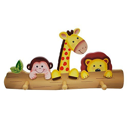 Fantasy Fields Sunny Safari Animals Thematic Kids Woode Https Www Dp B00jsrdu9e Ref Cm Sw R Pi Dp X Nff Xb Peg Wall Kids Wall Hooks Peg Hooks