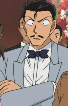 Kogoro Mouri 毛利 小五郎 Is A Private Detective The Father Of Ran Mouri Detective Conan Detective Conan Conan Detective