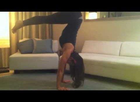 14 chaturanga dandasana handstand  yoga poses