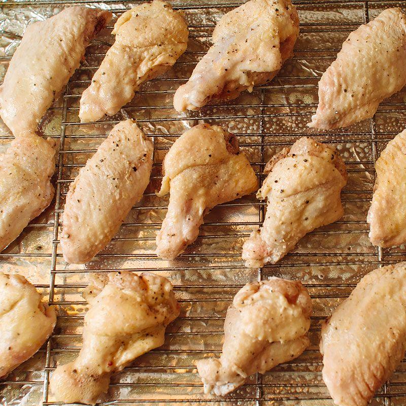 Crispy Baked Chicken Wings Recipe Recipes Pinterest Chicken