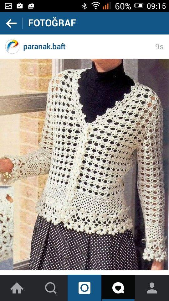 Pin von Rosi Balle auf Crochet:sacos para dama | Pinterest