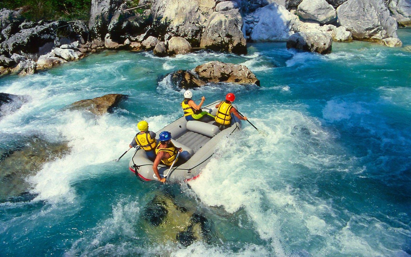 Rafting wallpaper